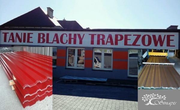 Blacha trapezowa blachodachówka TANIO BLACHY PL Kliknięcie w obrazek spowoduje wyświetlenie jego powiększenia