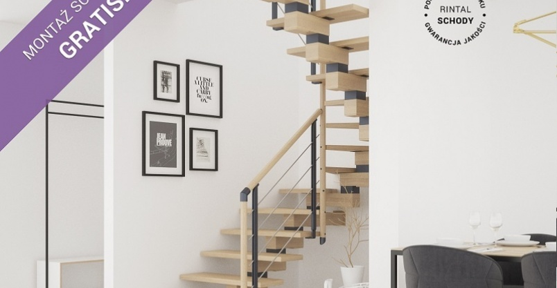 Schody Rintal we wrześniu montaż schodów gratis Kliknięcie w obrazek spowoduje wyświetlenie jego powiększenia