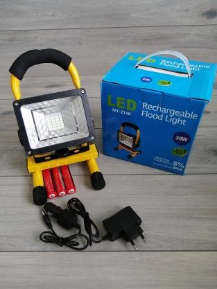 NOWE HALOGENY PRZENOŚNE ROBOCZE LAMPA LED 30W SMD Kliknięcie w obrazek spowoduje wyświetlenie jego powiększenia