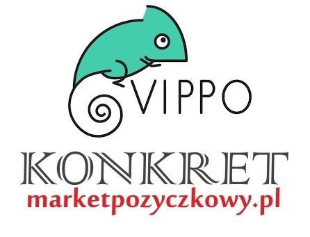 Pożyczki VIPPO w KONKRET. Kliknięcie w obrazek spowoduje wyświetlenie jego powiększenia