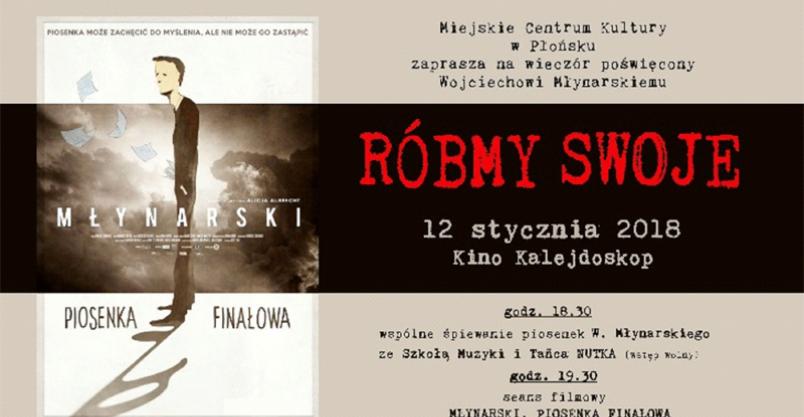Wieczór poświęcony Wojciechowi Młynarskiemu  Kliknięcie w obrazek spowoduje wyświetlenie jego powiększenia
