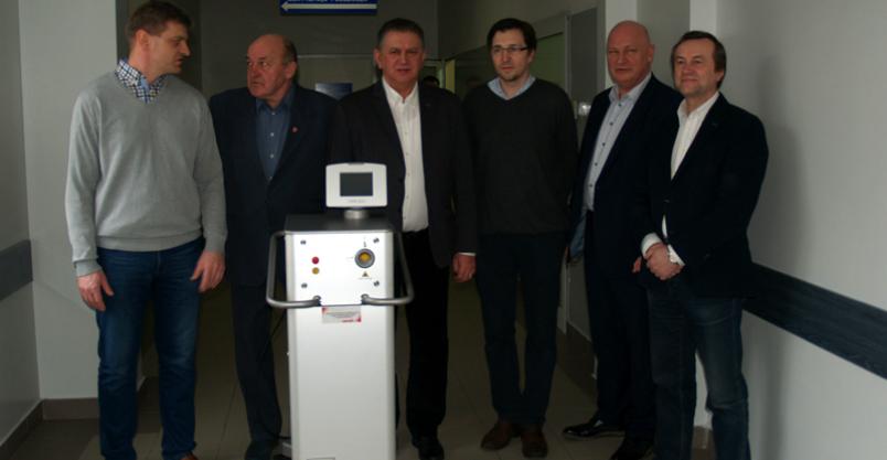 Urologia bez skalpela w płońskim szpitalu Kliknięcie w obrazek spowoduje wyświetlenie jego powiększenia