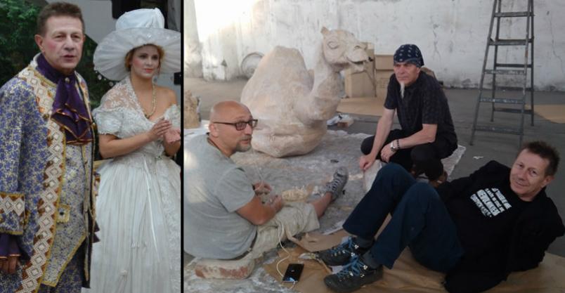 Płoński artysta współpracuje z twórcami filmu, docenionego w obu Amerykach Kliknięcie w obrazek spowoduje wyświetlenie jego powiększenia