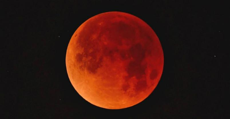 Wyjątkowe zaćmienie Księżyca. Dodatkowo najbliżej ziemi znajdzie się Mars Kliknięcie w obrazek spowoduje wyświetlenie jego powiększenia