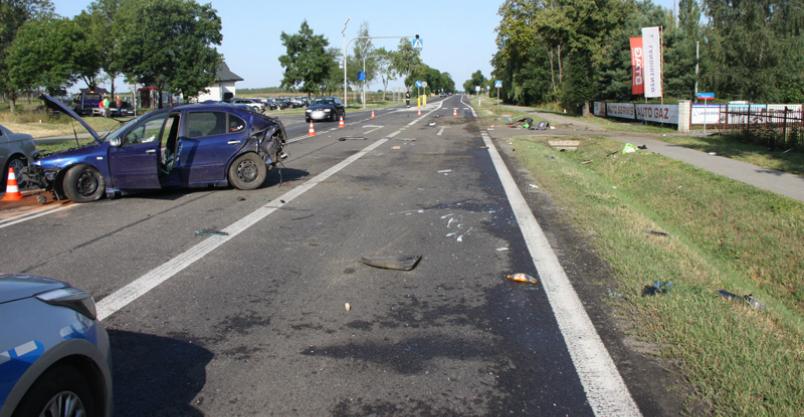 Trzy osoby ranne w wypadkach na powiatowych drogach Kliknięcie w obrazek spowoduje wyświetlenie jego powiększenia