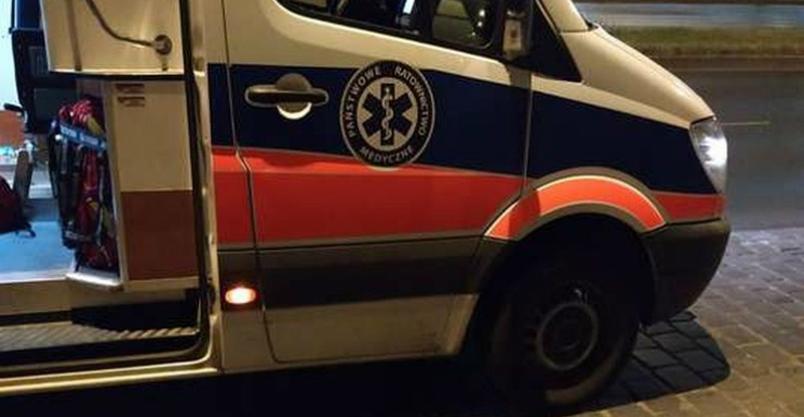 Wypadek na 10-ce. Pijany kierowca, dwoje dzieci w szpitalu Kliknięcie w obrazek spowoduje wyświetlenie jego powiększenia