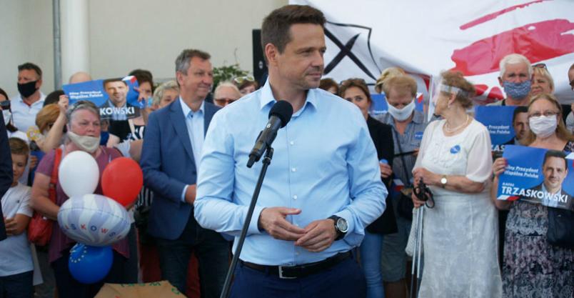 Rafał Trzaskowski odwiedził Raciąż  Kliknięcie w obrazek spowoduje wyświetlenie jego powiększenia