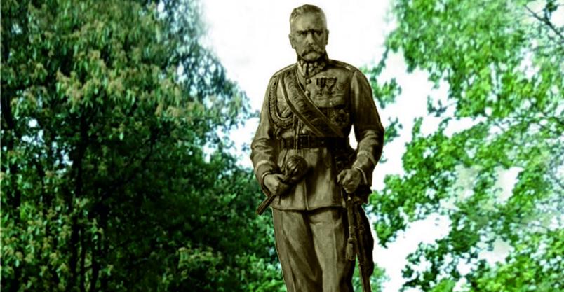 Pomnik Marszałka Józefa Piłsudskiego Kliknięcie w obrazek spowoduje wyświetlenie jego powiększenia