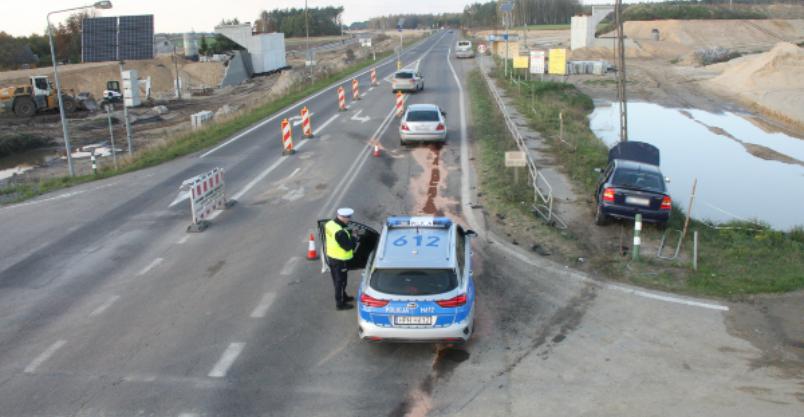 Zderzenie na DK7 w Polesiu. Dwie osoby w szpitalu Kliknięcie w obrazek spowoduje wyświetlenie jego powiększenia