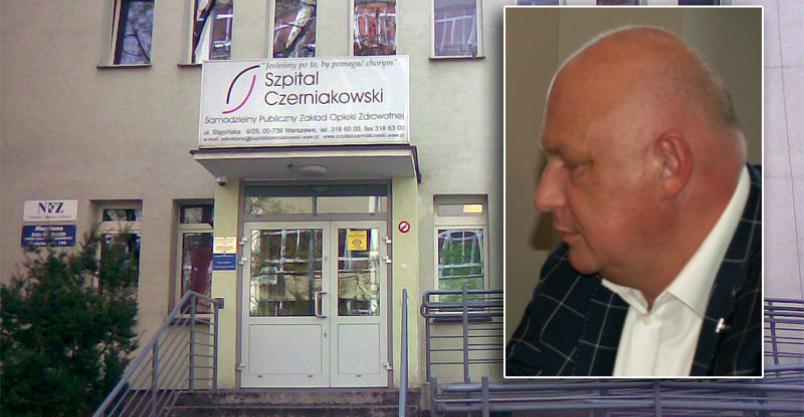 Paweł Obermeyer dyrektorem Szpitala Czerniakowskiego Kliknięcie w obrazek spowoduje wyświetlenie jego powiększenia